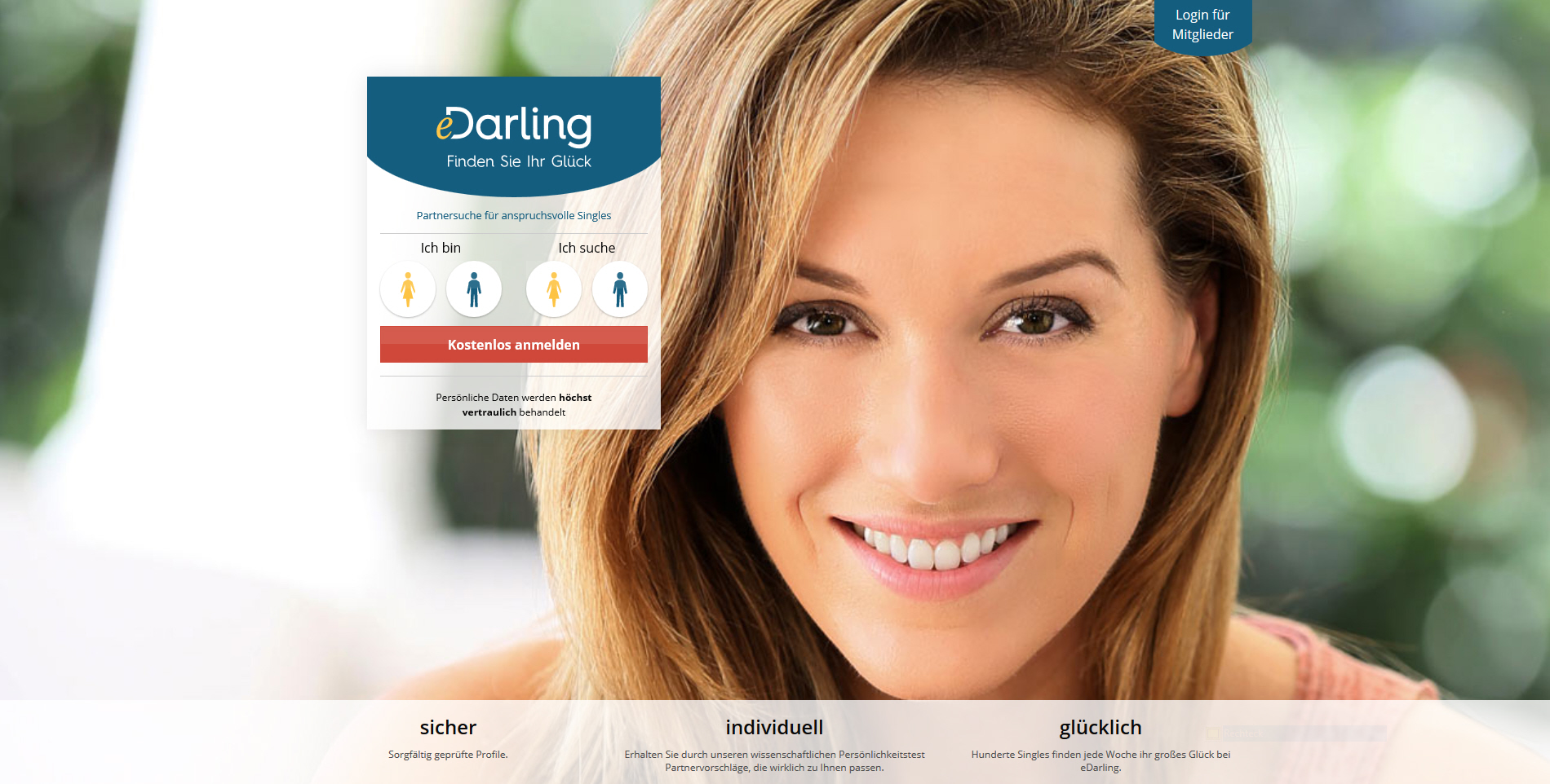 Edarling.De Login