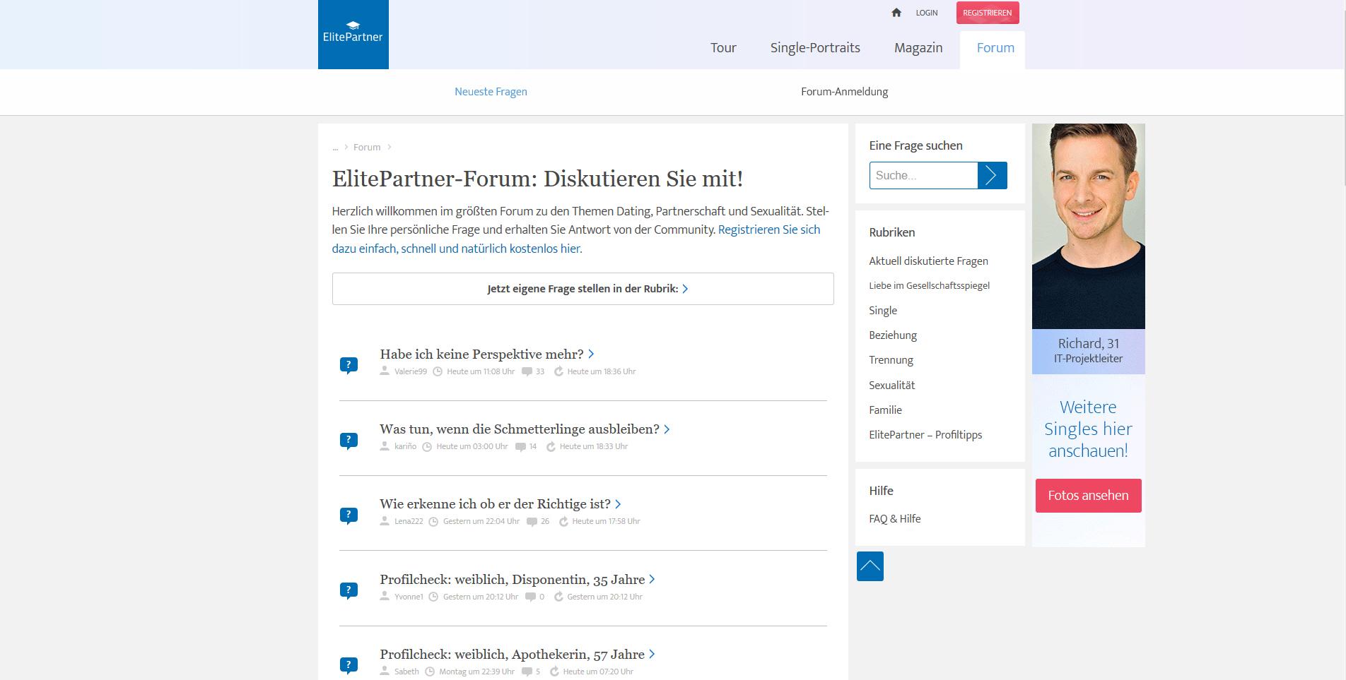 ElitePartner.de - Tests & Erfahrungsberichte - Datingleaks.com