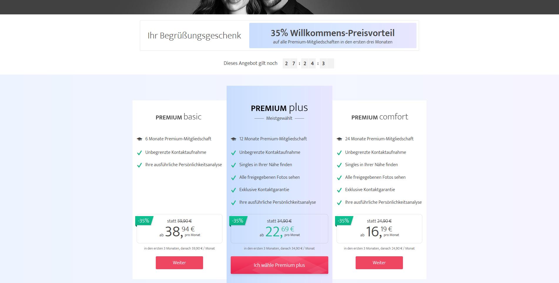 Premium mitgliedschaft edates kosten
