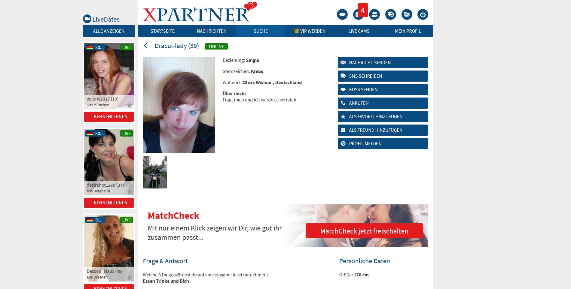 XPartner.com - Tests & Erfahrungsberichte - Datingleaks.com