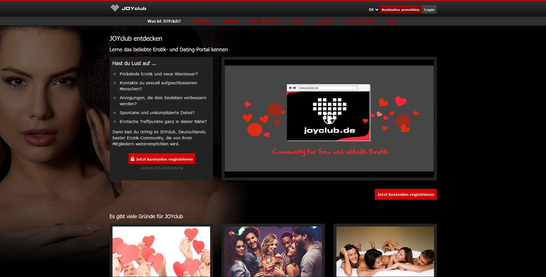 Joyclub.De/Login/