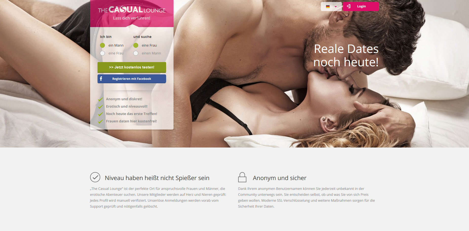 Casual Sex Sites - Top 10 Casual Hookup Sites and Apps