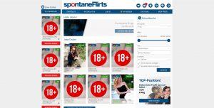 spontaneflirts.com dashboard